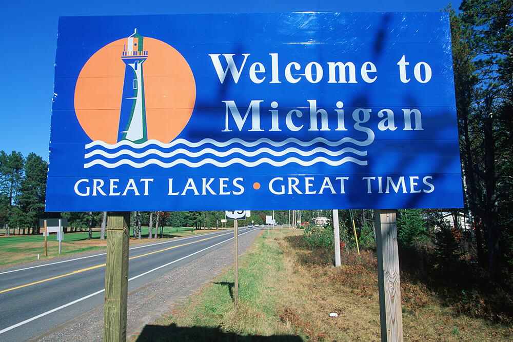 Top Five Motorcycle Road Routes In Michigan