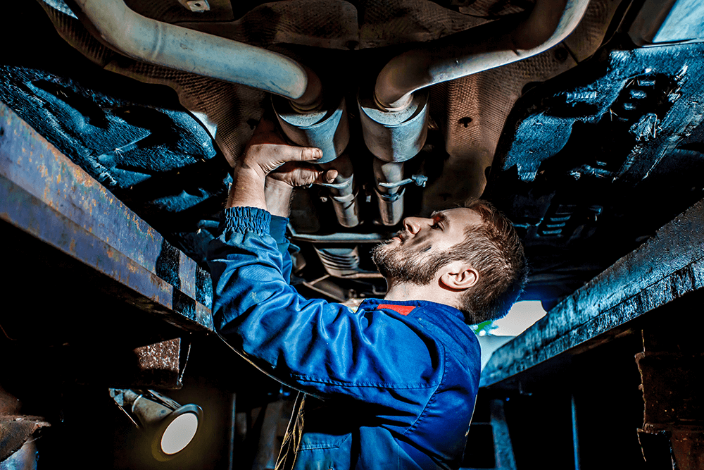 Common Causes of Undercarriage Damage